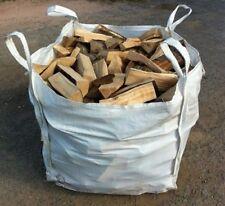 Dry seasoned Logs for sale in builders dumpy tonne bags, Halifax HX3