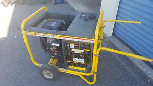 Wacker Neuson GPS9700 9,700 Watts   Powered by Briggs & Stratton Vanguard 18 HP