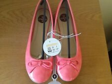 Ballerina pumps,sizes 3 -7.5, pink patent,by Veronica Pie, quality,rrp £18.00