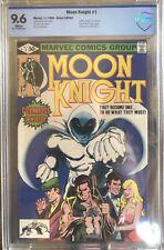Moon Knight #1 CBCS 9.6 NM+   Origin Issue 11/1980