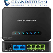 Grandstream HT814 Analog Telephone Adapter Home Office 4 FXS Port Gigabit Router