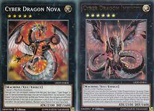 YuGiOh CARD CYBER DRAGON INFINITY LEDD-ENB31 - ULTRA + CYBER DRAGON NOVA 2 CARDS