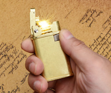 Retro Vintage Brass Copper Lighter Kerosine Trench Collectable Lighter Torch