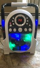 Singing Machine Portable Karaoke With Light Show Cd w/ 1 Microphone SmL505