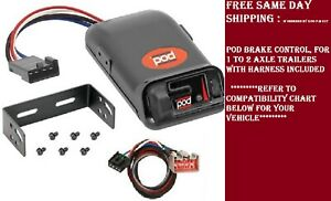 80500 Pro Series Brake control with Wiring Harness 3036 FOR 2009-2020 Ford