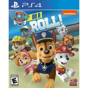 Paw Patrol On A Roll (Sony PlayStation 4, 2018) - Brand New / Factory Sealed