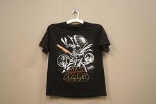 DARTH VADER.. PICTURE STAR WARS BLACK T-SHIRT..MARVEL..FOR KIDS..SIZE:M/L..A.D