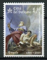 Vatican City Art Stamps 2020 MNH Giamattista Tiepolo Memorial Paintings 1v Set