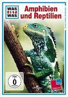 WAS IST WAS TV:  Amphibien und Reptilien   DVD   Zustand gut