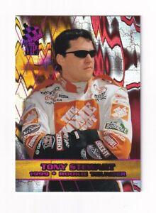 2001 VIP EXPLOSIVE LAZER NUMBERED PARALLEL #LX37 Tony Stewart #352/420! SCARCE!