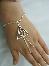 Harry Potter The Deathly Hallows Hand Harness,Bracelet, Ring Armour, Slave Chain