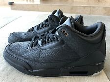 AIR JORDAN 3 RETRO FLIP 315767 001 BLACK METALLIC SILVE NEW IN BOX SIZE 12