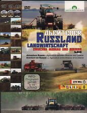 Big Tractor DVD: AGRICULTURE IN RUSSIA 3 DVD Set - Tammo & Jorn Glaser - English
