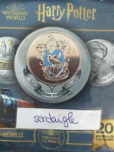 Mini Médaille Harry Potter Monnaie de Paris 2021 Serdaigle