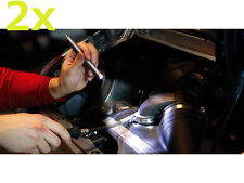 2x LED LENSER V12 V 12 Triplex 7533 Taschenlampe Techniker Lampe Monteurlampe