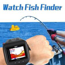 Portable Echo Fishing Sounder Sonar Fish Finder Wireless Fishfinder 2017 A7S4