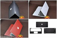 Textured Carbon Skin Vinyl Cover Sticker Decal Wrap MacBook Air Pro 11 12 13 15
