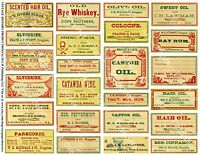 24 APOTHECARY LABELS, Sticker Sheet, Druggist Labels & Drug Store Pharmacy Decor