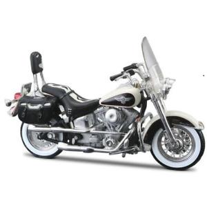 Maisto 1:18 Harley Davidson 1993 FLSTN Heritage Softtail MOTORCYCLE BIKE Model