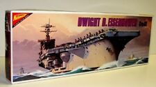 Nichimo 12 Inch 30cm Scale Eisenhower Aircraft Carrier CVM-69 Kit 318