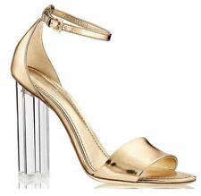 912782121205 Louis Vuitton Crystal Flower Lucite Heels Sandals 37