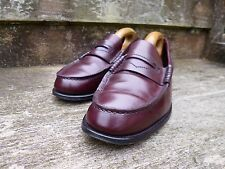 CHEANEY / CHURCH VINTAGE LOAFERS – BROWN / OXBLOOD  – UK 8 – EXCELLENT CONDITION