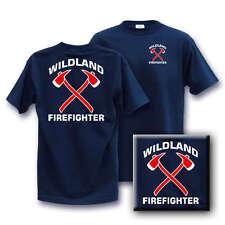 WILDLAND AXE FIREFIGHTER XX-Large T Shirt 2XL wild land