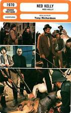 FICHE CINEMA : NED KELLY - Mick Jagger,C.Kaye-Mason,T.Richardson 1970