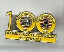 """Partick Thistle Supporters: Firhill Centenary """"100""""  PinBadge"""