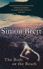 """""""AS NEW"""" The Body on the Beach (A Fethering mystery), Brett, Simon, Book"""