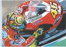 Valentino Rossi Ducati 2011 impresión de arte