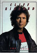 CLIFF RICHARD - The Silver Tour -Original 1983 UK Embossed 28-pageTour Programme