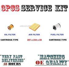 Per Saab 93 1.9TD 04 05 06 07 KIT Pezzo di ricambio d'aria olio carburante Cartuccia Filtro impostato