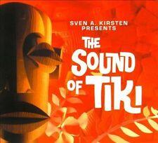 The Sound of Tiki [Digipak] by Various Artists (CD, 2010, Bear Family Records (Germany))