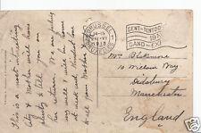 Genealogy Postcard - Family History - Blakemore - Didsbury - Manchester  BX256