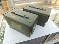 LOT OF 2  Grenade/ Ammo Box US Military Surplus
