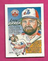 RARE 1992 NABISCO EXPOS LARRY PARRISH TRADITION  CARD (INV# C5164)
