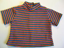 "Authentic American Girl/PC 18"" Doll 1996 First Day Outfit Striped Tee"