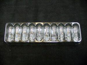 Box of 10 Clear Incandescent 912 High Mount Third Brake Marker Lights Bulbs GM