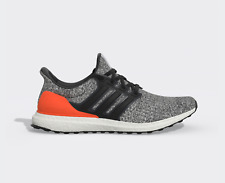 Adidas Ultra boost 4.0 Mens Running Shoes White/Carbon/Active orange DB2834 6-12