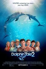 DOLPHIN TALE 2 - 2014 - original 27x40 D/S REG Movie Poster - HARRY CONNICK JR.