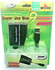 Original Xbox Controller to WINDOWS P.C Adapter Super Joy Box9 Retro Gaming RARE