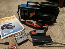 SONY HANDYCAM CCD-V8AF 8MM 8 CAMCORDER VIDEO CAMERA VCR DECK PLAYER