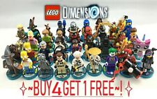 Lego Dimensions Minifigures Vehicle W Tag Complete UR Set ☀️Buy 3 get 1 free☀️