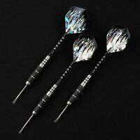 3pcs/Set 22g Professional Tungsten Steel Needle Tip Darts With Dart Flights