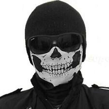 Skeleton Ghost Skull Face Mask Biker Balaclava Costume Game New