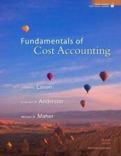 Fundamentals of Cost Accounting, Maher, Michael, Anderson, Shannon, Lanen, Willi