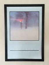 Jan Staller framed wall art -61x91cm, vintage Signals poster, abstract wall art
