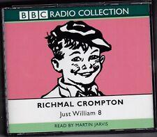 JUST WILLIAM 8 RICHMAL CROMPTON BBC RADIO COLLECTION CD AUDIO BOOK MARTIN JARVIS