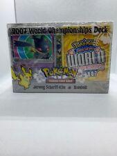Pokemon 2007 World Championship Deck Set - Jeremy Scharff-Kim